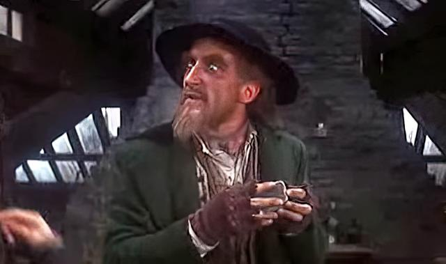"""Ron Moody, """"Oliver!"""""""