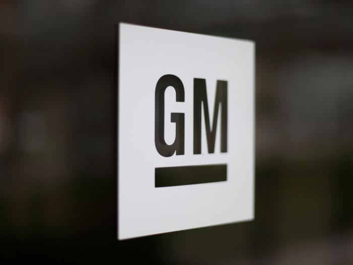 This Friday, May 16, 2014, file photo, shows the General Motors logo at the company's world headquarters in Detroit