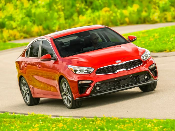 This photo provided by Kia Motors America shows the Kia 2021 Forte