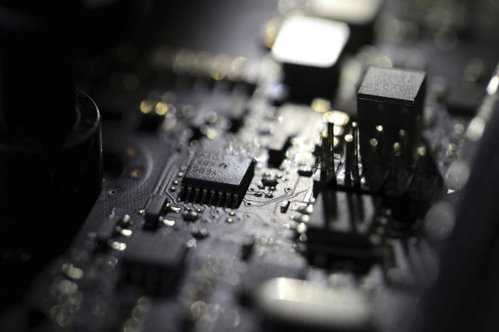 This Feb 23, 2019, file photo shows the inside of a computer in Jersey City, N.J. A ransomware attack paralyzed the networks of at least 200 U.S. companies on Friday, July 2, 2021, according to a cybersecurity researcher whose company was responding to the incident. (AP Photo/Jenny Kane, File)
