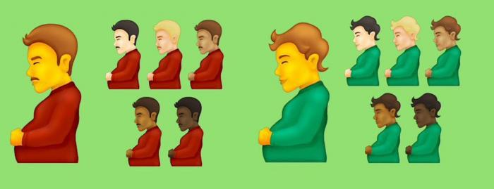 First Look: New Proposed Emojis Include Pregnant Man